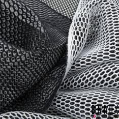 Résille Néoprène 3D Double Couche Blanc / Noir