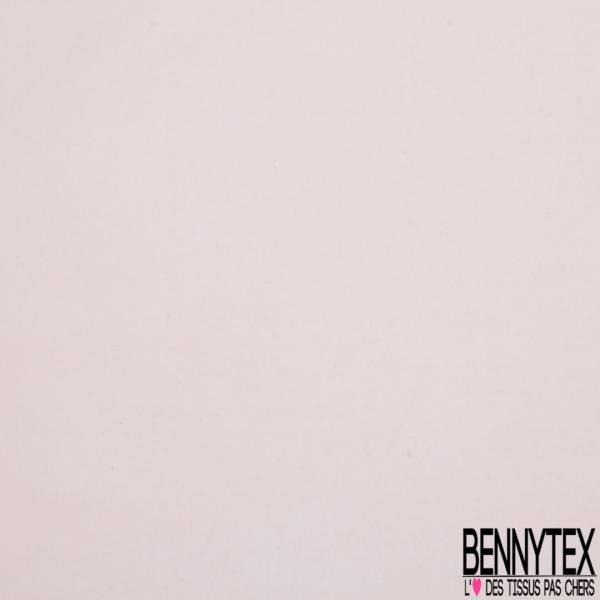 Voile de Coton Uni Rose Pastel Elasthanne