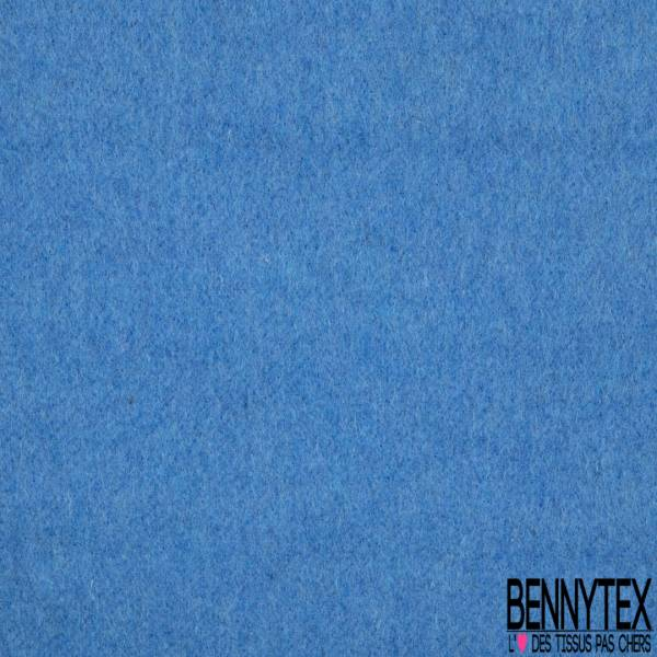 Laine Poilue Mohair Bleu Azur