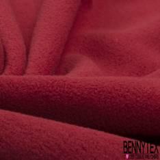 Polaire Double Face Rouge Brique