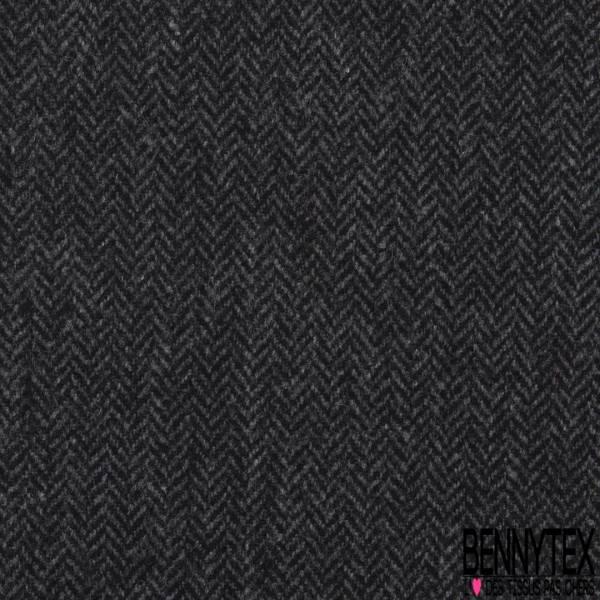 Chevron de laine Souple Camaïeu de Gris