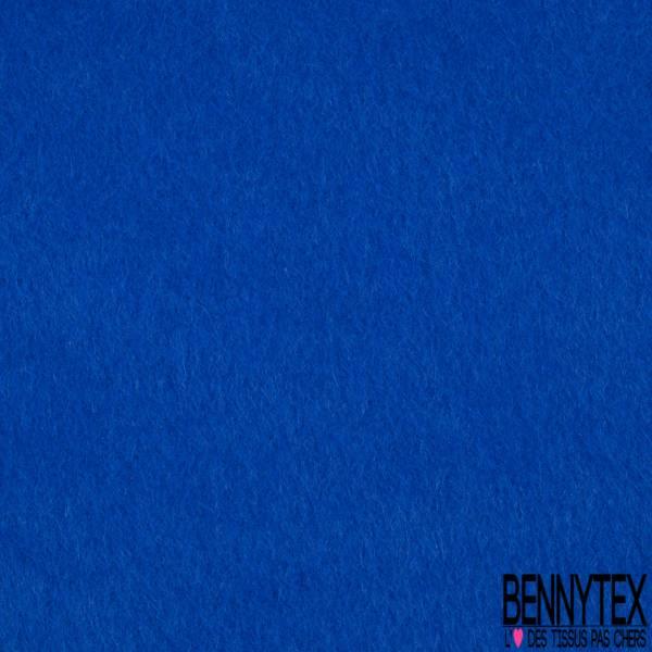 Laine Mohair Grattée Epaisse Bleu Electrique