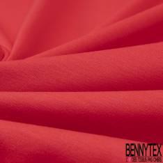 Jersey Coton Uni Rouge Groseille