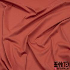 Jersey Coton Uni Rouge Alizarine