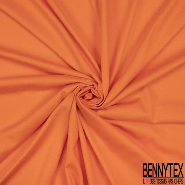 Jersey Coton Uni Orange