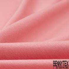 Jersey Coton Uni Rose Malabar