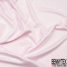 Jersey Coton Uni Rose Layette Epais Côte 1/1