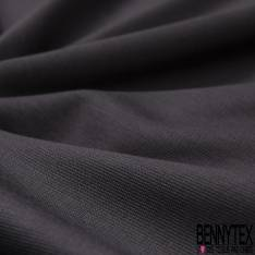 Coupon 3m Maille Jersey Modal Viscose Elasthanne Anthracite