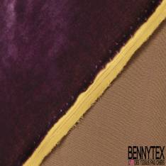 Velours de Soie Yellow Purple