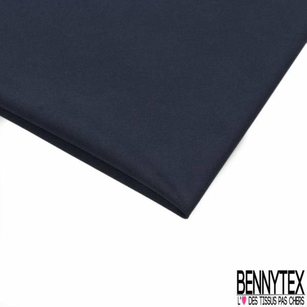 Toile de Gabardine Coton Dos Gratté coloris Noir