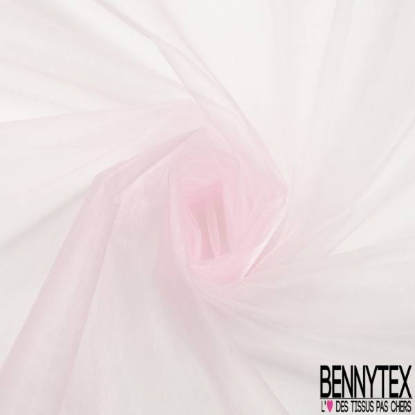 Organza coloris Rose Layette