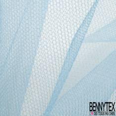 Tulle Rigide Uni Bleu Layette