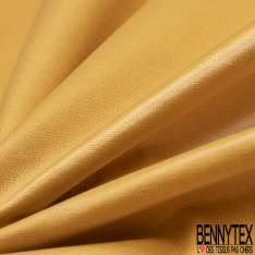 PUL de Jersey de Coton Imperméable Certifié Oeko tex Uni Moutarde