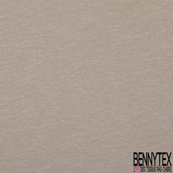 PUL de Jersey de Coton Imperméable Certifié Oeko tex Uni Taupe