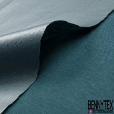 PUL de Jersey de Coton Imperméable Certifié Oeko tex Uni Pétrole
