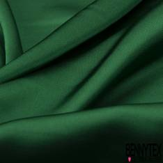 Satin Polyester Toucher Soie Vert Sapin
