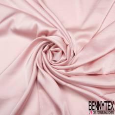 Satin Polyester Toucher Soie Rose Layette