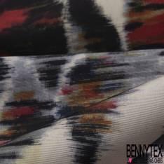 Satin Polyester Imprimé Race de Gros Chien de Luxe avec Collier Pierre Précieuse