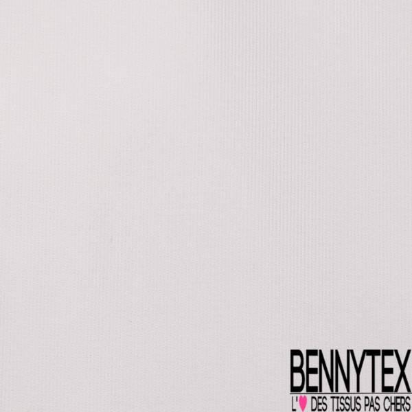 PUL Polyester Imperméable Uni Blanc