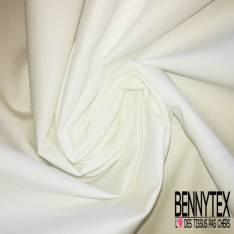 Toile de Coton Polyester Souple Ecru spécial blouse et masque hôpital