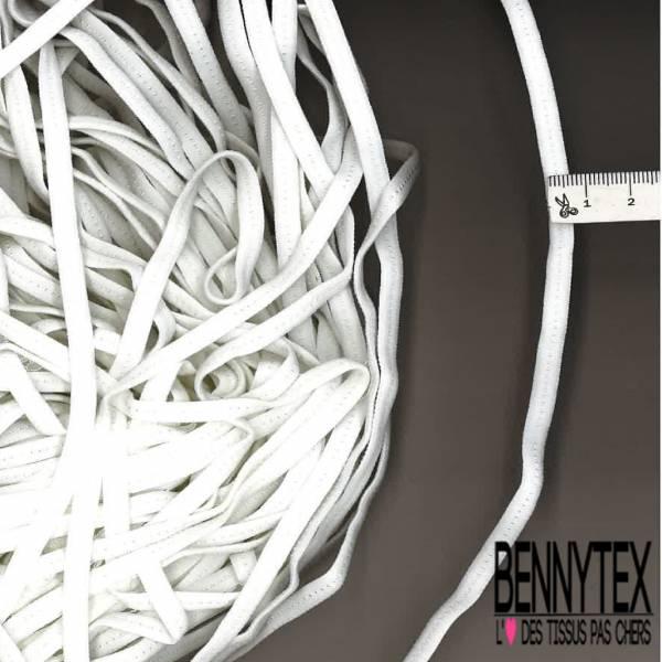 30m élastique 5mm Blanc type Souple et doux type Bretelle lingerie