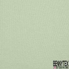 Jersey Coton Piqué Uni Saumon Pastel Grande Laize