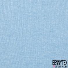 Jersey Coton Piqué Uni Bleu cobalt Grande Laize