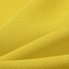 Maille de luxe nattée 3D jaune