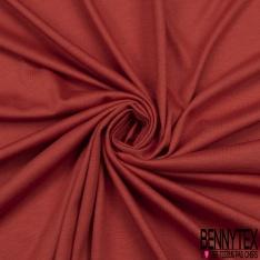 Jersey Coton Uni brique