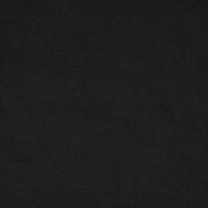 Satin de Coton de Soie uni noir