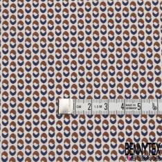 Satin de Coton Elasthanne petits ronds Fantaisies