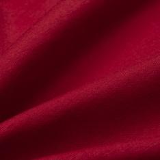 Jersey Coton Uni rouge cerise