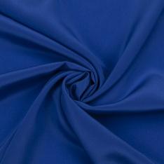 Crêpe de Soie Satiné unie Bleu Roi