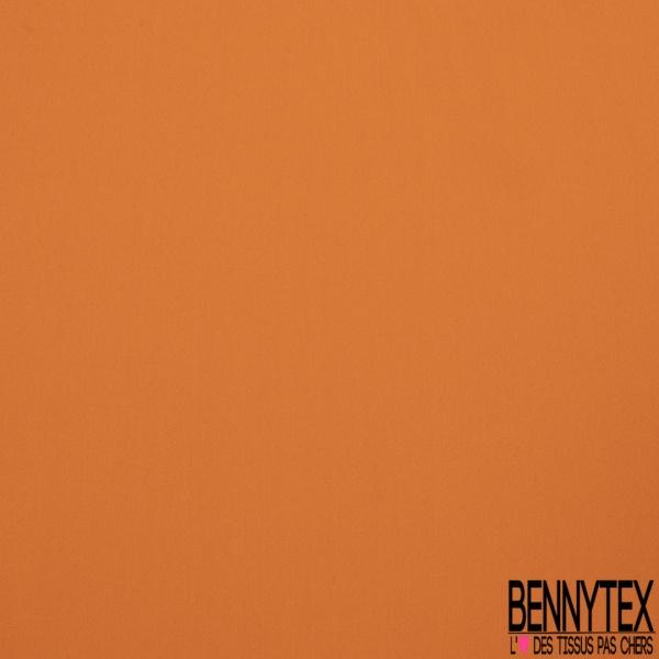 Crêpe de Chine 100% Soie orange vif