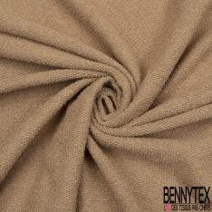 Molleton Bouclette Uni Camel