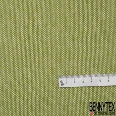 Coton Natté Unis vert absinthe