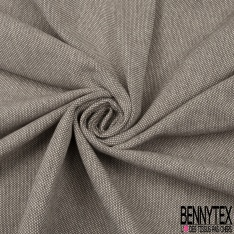Coton Natté Unis gris