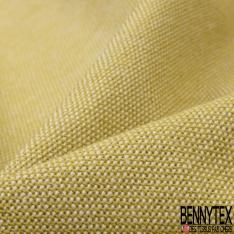 Coton Natté Unis jaune