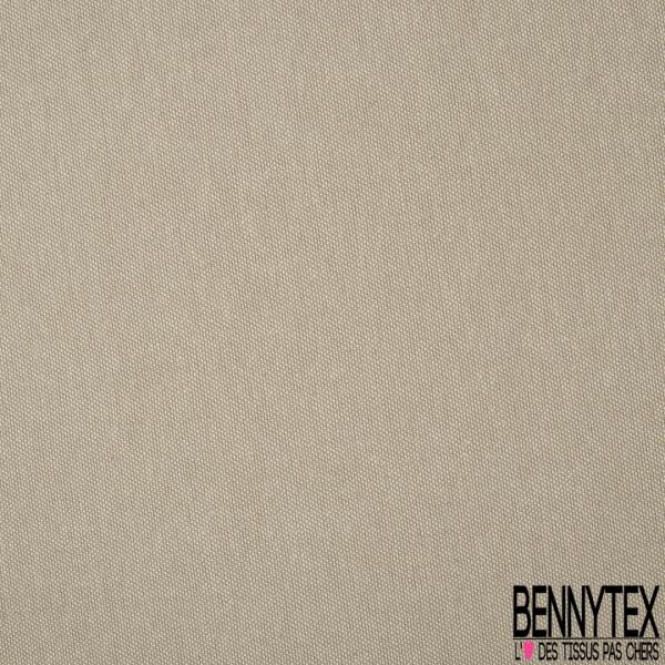 Coton Natté Unis gris taupe
