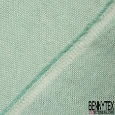 Coton Natté Unis vert turquoise