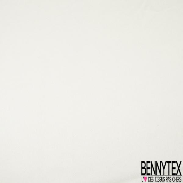 Satin de Soie 16 Mommes Couleur blanc cassé - 100% Soie