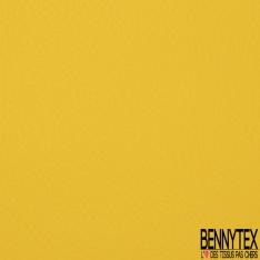 Simili Cuir matte Couleur jaune vif