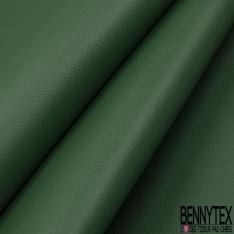 Simili Cuir matte Couleur vert empire