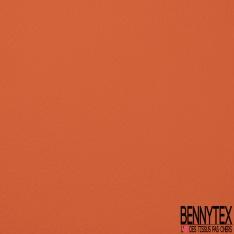Simili Cuir matte Couleur orange