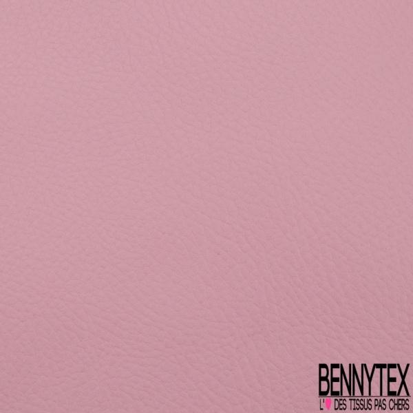 Simili Cuir matte Couleur rose malabar