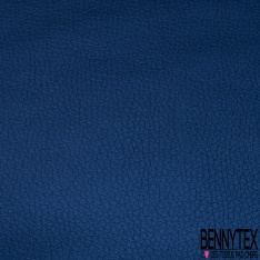 Simili Cuir brillant Couleur bleu marine