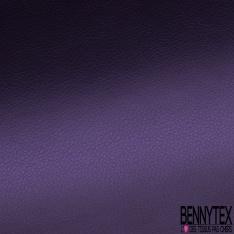 Simili Cuir brillant Couleur violet