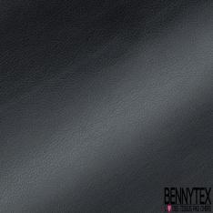 Simili Cuir brillant Couleur carbone