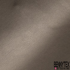 Simili Cuir brillant Couleur gris