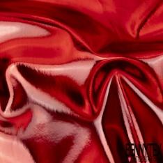 PVC Imperméable Souple Couleur rouge Métallisé